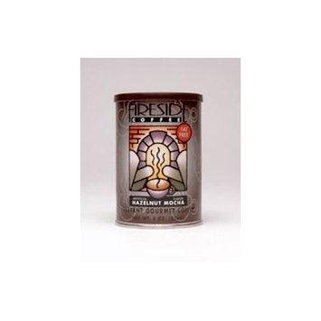 Fireside Coffee Cafe Mocha Instant Flavored Coffee 8 Ounce Canister - Hazelnut Mocha