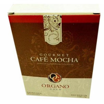 7 Boxes Organo Gold Gourmet Cafe Mocha with Ganoderma Lucidum Extract + Free 7 Sachets Gano Excel Ganocafe Mocha Coffee