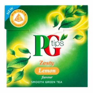 Pg Tips Zesty Lemon Smooth Green Tea 20 Pyramid Bags (Pack of 4)
