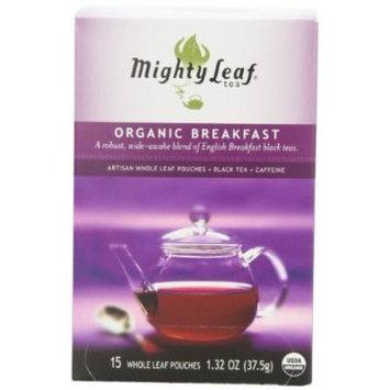 Mighty Leaf Tea, Organic Breakfast --(Pack of 6)