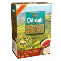 Dilmah, Ceylon Gold, 100% Pure Ceylon, Loose Leaf Tea, Extra Strong, 8.82oz per Box (Pack of 2)