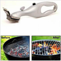 Grill Cleaning Brush BBQ Stainless Steel Brush Clean Grill with Steam Power - Gray