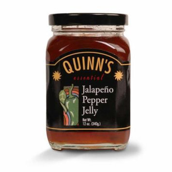 Gourmet Jalapeño Pepper Jelly - Jalapeños, Red & Green Bell Peppers - by Quinn's (Pack of 3)
