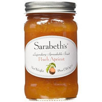 SARABETH'S KICTHEN FRUIT SPREAD PRESERVES (Peach Apricot, Pack of 6)