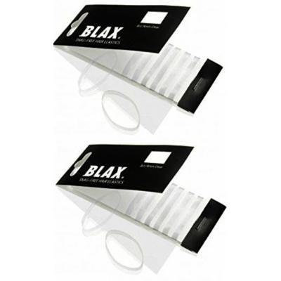 Blax Clear Snag-Free Hair Elastics - 4mm 2 Pack......
