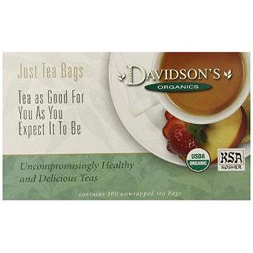 Davidson's Tea Bags, Organic Pumpkin Spice, 100 Count