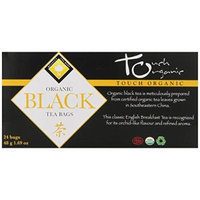 Touch Organic Tea, Black , 24 Count (Pack of 6)