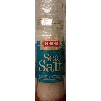 HEB Sea Salt 3.7 Oz (Pack of 4)