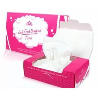 LIOELE Fresh Deodorant Tissue 25Sheets(100ml)