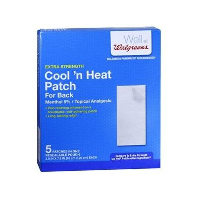 Walgreens Cool 'n Heat Patches, Back 5 ea