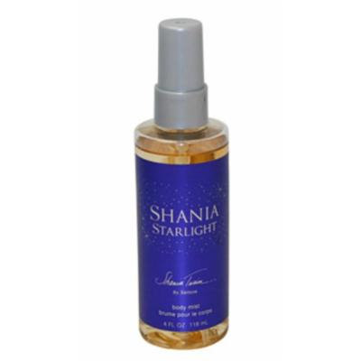 Shania Twain Starlight Body Mist Spray 4.0oz