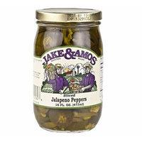 Jake & Amos Sliced Jalapeno Peppers, 16 Oz. Jar (Pack of 2)