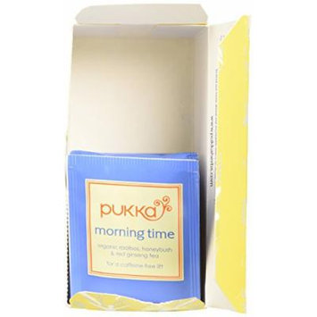 Pukka Herbal Teas Herbal Morning Time Organic Tea, 20 Count