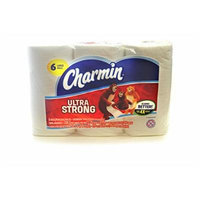 Charmin Ultra Strong Bathroom Tissue, 6 Large Rolls 220 - 2 Ply Sheets Per Roll