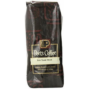 Peet's Coffee & Tea Fair Trade Blend Whole Bean Coffee, 1 Pound