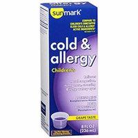 Sunmark Sunmark Childrens Cold & Allergy Elixire Grape, Grape 8 oz