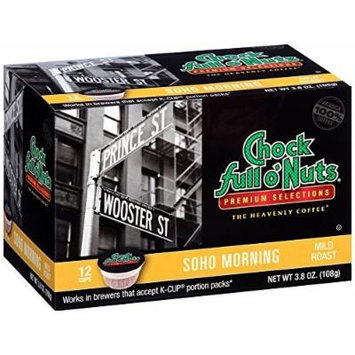 Chock Full o'Nuts Soho Morning Single-Serve Cups, 48 Count