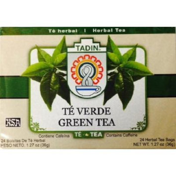 Tadin Green Tea 24 Bags - Te Herbal