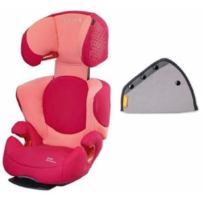 Maxi-Cosi Rodi AP Booster Car Seat with Seat Belt Adjuster, Rose