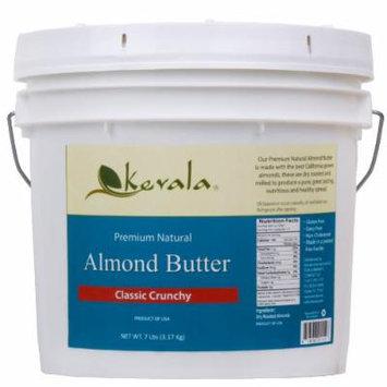 Almond Butter Crunchy, Kevala, 7 Lbs Pail