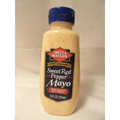 Dietz & Watson Sweet Red Pepper Mayo - 2 bottles