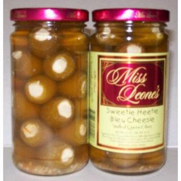 Sweetie Heetie Bleu Cheesie Stuffed Gourmet Queen Spanish Olives 12 oz. Jar