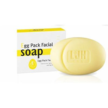 LJH Egg Pack Facial Soap, Korean Cosmetics, Korean Beauty, Kpop Beauty, Kstyle