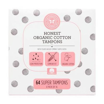 The Honest Co. Organic Cotton Applicator Tampons