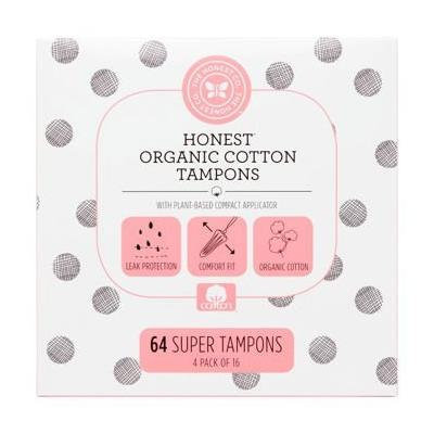 The Honest Company Organic Cotton Super Tampons