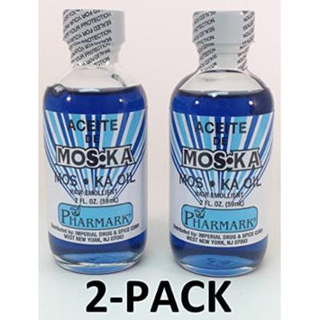 Aceite De Moska 2 Oz. Moska Oil 2-PACK