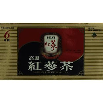 Korean Red Ginseng Tea, 3g X 100bags