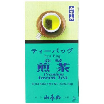 Yamamotoyama Premium Green Tea Sencha, 1.55 Ounce Box