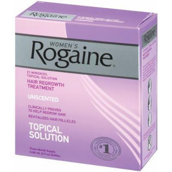Rogaine for Women Hair Regrowth Treatment, Super Size Value Package 2 Ounce, 6 Count