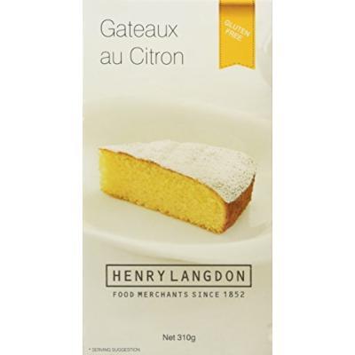 Henry Langdon Gateaux Au Citron Cake, 11 Ounce