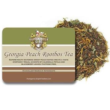 Georgia Peach Rooibos Caffeine Free Tea - Loose Leaf - 16oz