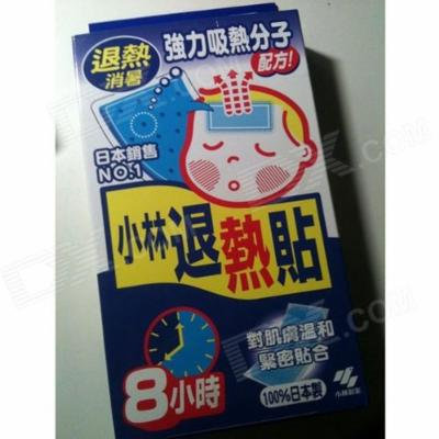 Kobayashi Fever Cooling Gel Pad - 6 sheets for Children