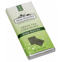 TASTE OF KYOTO Matcha Green Tea, Dark Chocolate, 1.50 Ounce