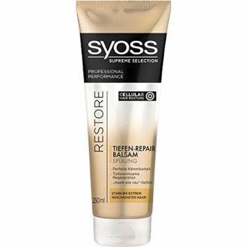 Syoss Supreme Selection Restore Deep Repair Balsam Conditioner 8.45 fl oz