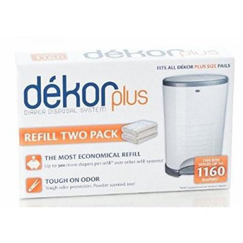 Diaper Dekor Plus Refills 2 Pack, New