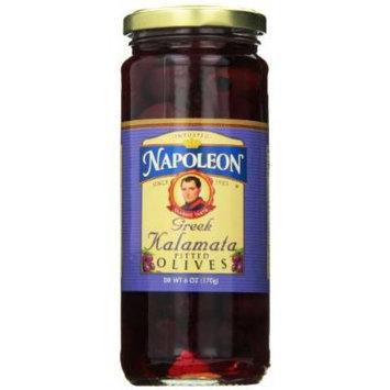 Napoleon Pitted Kalamata Olives, 6 Ounce