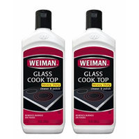 Weiman Glass Cook Top Cleaner, 10-Ounce Bottles (Pack of 2)