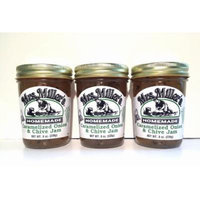Mrs. Miller's Amish Homemade Caramelized Onion & Chive Jam 8 oz/226g - Pack of 3 (Boxed)
