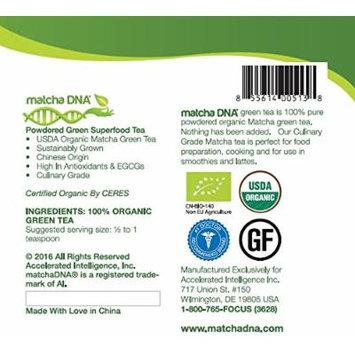 MatchaDNA USDA Organic Matcha Green Tea Powder 50 Lbs DRUM (800 Oz) - CERTIFIED ORGANIC - Bulk - Culinary Grade