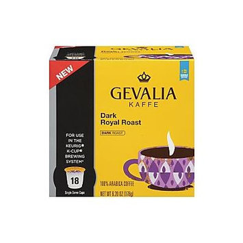 Gevalia Dark - Royal Roast - Coffee 108 ct