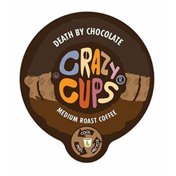 Crazy Cups Death By Chocoalte Flavored Coffee Single Serve Cups (88 Count)