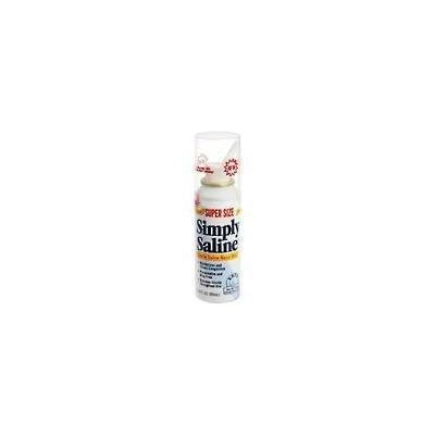 Simply Saline Nasal Mist Super Size -3 Oz -2 Pack