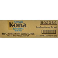 UCC Hawaii Kona Blend Coffee with Milk, 11.3-Ounce Cans (Pack of 24)