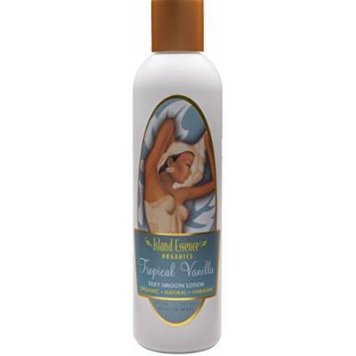 Island Essence® Vanilla Lotion - All Natural Organic Silky Hawaiian Tropical Vanilla Body Lotion 4pk 34oz