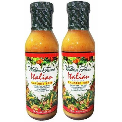 Walden Farms Italian Salad Dressing - 12oz (Pack of 2)