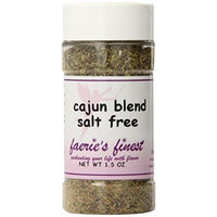 Faeries Finest Cajun Seasoning Blend, Salt Free, 1.50 Ounce
